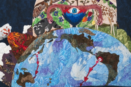 Art Quilts and Fiber Arts